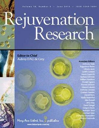 Rejuvenation Research - Image: Rejuvenation Research