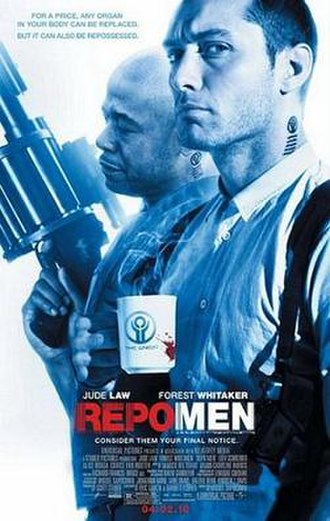 Repo Men - Theatrical release poster