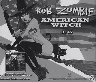 American Witch 2006 single by Rob Zombie