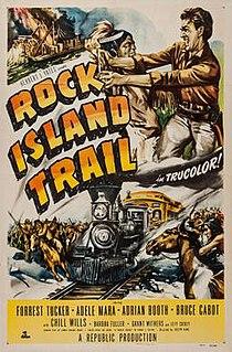 <i>Rock Island Trail</i> (film) 1950 film by Joseph Kane