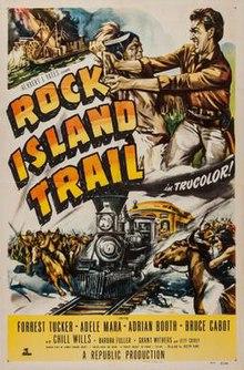 Rock Island Trail Western Movie Poster