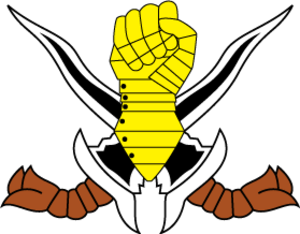 Malaysian Royal Armoured Corps - Regimental Crest of the Kor Amor DiRaja