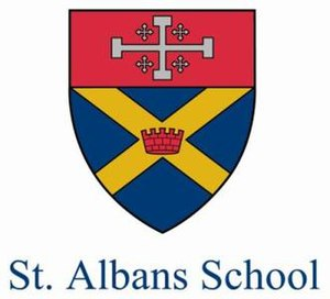 St. Albans School (Washington, D.C.) - Image: Saint Albans logo