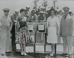 Childhelp - The Navy joins in to help Sara and Yvonne bring supplies to their orphanages in Japan.