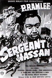 <i>Sergeant Hassan</i> 1958 film by Lamberto V. Avellana
