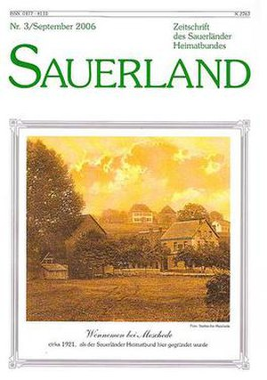 Sauerländer Heimatbund - Cover of magazin in 2006