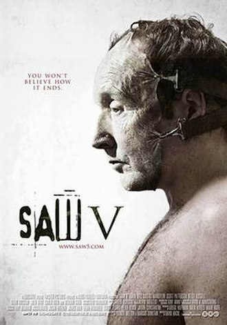 Saw V - Theatrical release poster