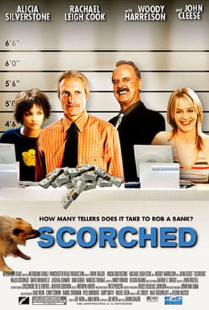 Scorched (film) - Promotional poster