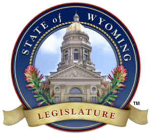 Wyoming House of Representatives - Image: Seal of the Wyoming State Legislature