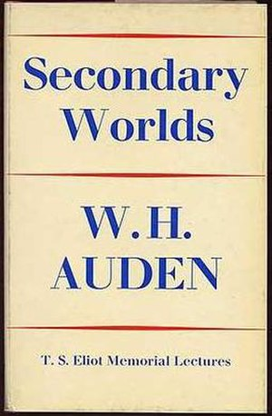 Secondary Worlds - First UK edition (publ. Faber & Faber)