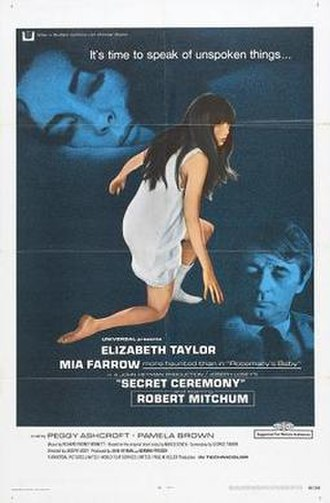 Secret Ceremony - Image: Secret Ceremony'68.jph