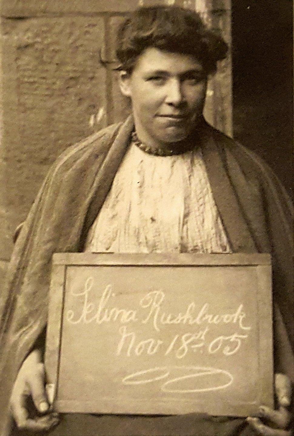 Selina Rushbrook (n%C3%A9e Selina Ann Jenkins), 1905