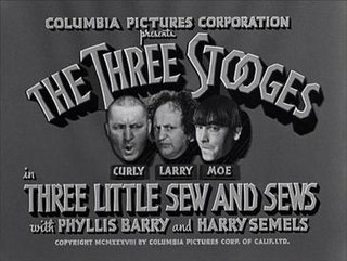 <i>Three Little Sew and Sews</i> 1939 film by Del Lord