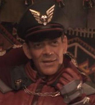 M. Bison - Raúl Juliá as General M. Bison in Street Fighter.