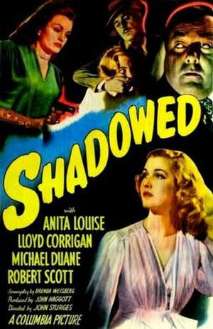 Shadowed - Theatrical release poster