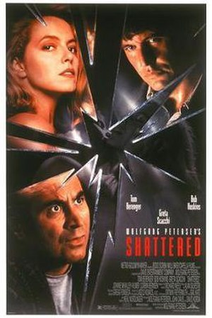 Shattered (1991 film) - Theatrical release poster