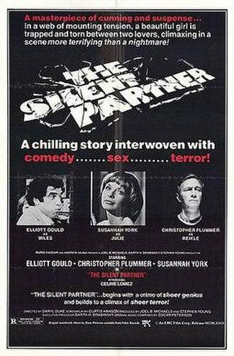 The Silent Partner (1978 film) - Movie cover for The Silent Partner