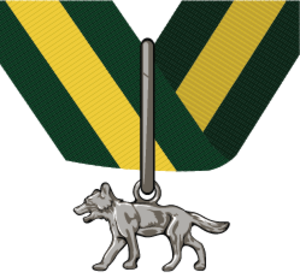 Silver Wolf Award (The Scout Association) - Image: Silver Wolf Award