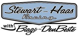 Biagi-DenBeste Racing - Stewart-Haas Racing with Biagi DenBeste Logo