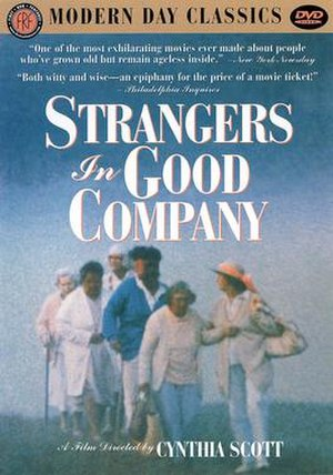 The Company of Strangers - Image: Strangers in Good Company dvd cover
