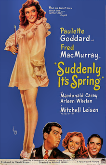 Suddenly It's Spring - 1947 Poster.png