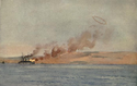 Suffren shelling Turkish positions at Gallipoli.png