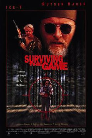 Surviving the Game - Theatrical release poster