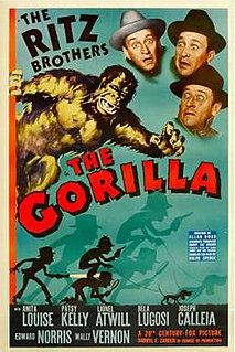 <i>The Gorilla</i> (1939 film) 1939 film by Allan Dwan