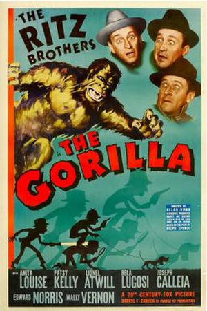The Gorilla (1939 film) - Promotional release poster