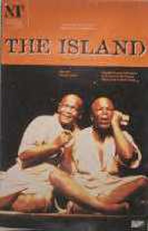 The Island (play) - Poster for the 2000 Royal National Theatre production