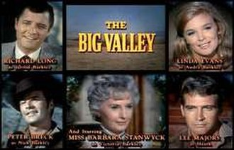 The Big Valley - Title card