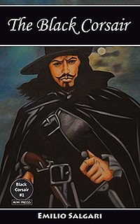 <i>The Black Corsair</i> book by Emilio Salgari