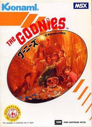 The Goonies (MSX video game) - Image: The Goonies MSX