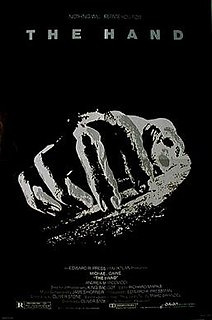 <i>The Hand</i> (1981 film) 1981 film by Oliver Stone