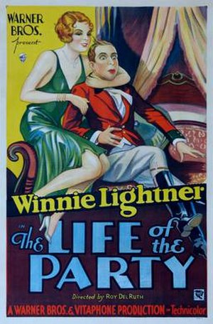 The Life of the Party (1930 film) - theatrical release poster