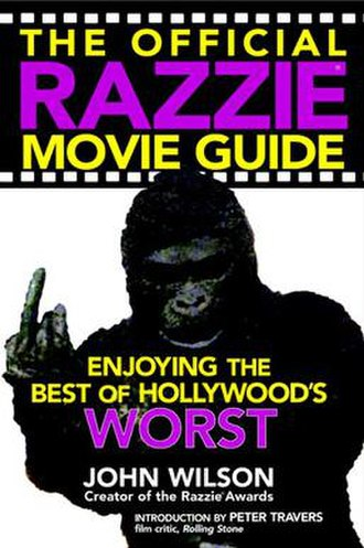 The Official Razzie Movie Guide - Book cover