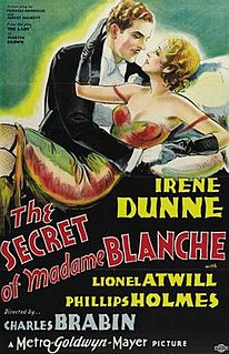 <i>The Secret of Madame Blanche</i> 1933 film by Charles Brabin