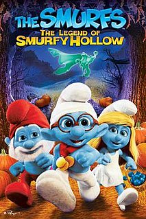 <i>The Smurfs: The Legend of Smurfy Hollow</i> 2013 American film directed by Stephan Franck