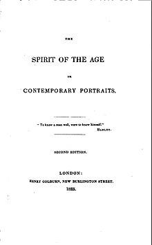 The spirit of the age essayist