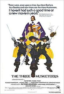 The Three Musketeers 1973 live-action film poster.jpg