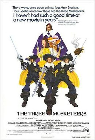 The Three Musketeers (1973 live-action film) - 1974 poster