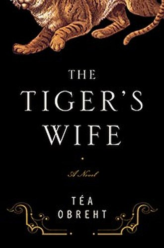 The Tiger's Wife - Front cover of US edition