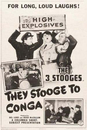 They Stooge to Conga - Image: Theytoogetoconga 43LOBBY
