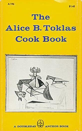 The Alice B. Toklas Cook Book - Image: Toklas cookbook cover