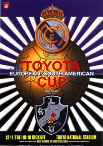 1998 Intercontinental Cup - Match programme cover