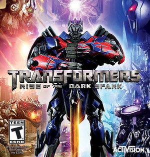 Transformers: Rise of the Dark Spark - Image: Transfromersgame