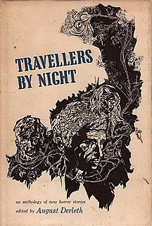 <i>Travellers by Night</i> book by August Derleth