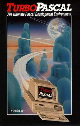 Turbo Pascal - Turbo Pascal 3.0 manual front cover
