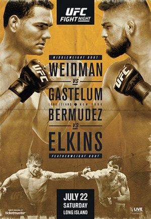 UFC on Fox: Weidman vs. Gastelum - Image: UFC Long Island