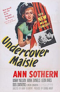 <i>Undercover Maisie</i> 1947 film by Harry Beaumont